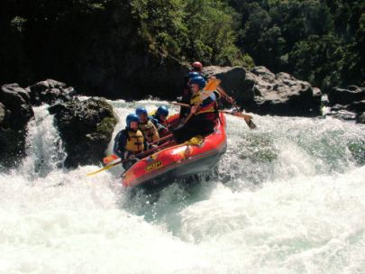 The whitewater of the Canadian Rockies will certainly satisfy the biggest adreneline junkies.