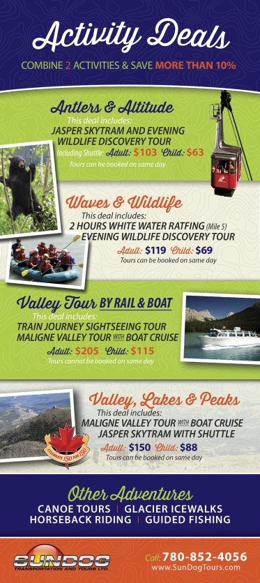 Sun Dog Tour Co. | Jasper Tours, Sightseeing and Transport