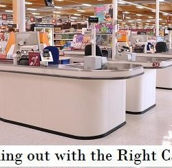 Checking out with the Right Cashier