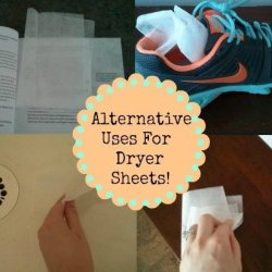 Dryer Sheets: Great for So Much More Than Laundry!
