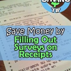 Receipt Surveys Worth a Minute of Your Time
