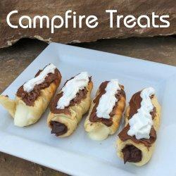 campfire treats fire camping