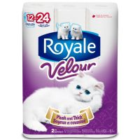 Royale Velour Bathroom Tissue For As Low As $2.99!
