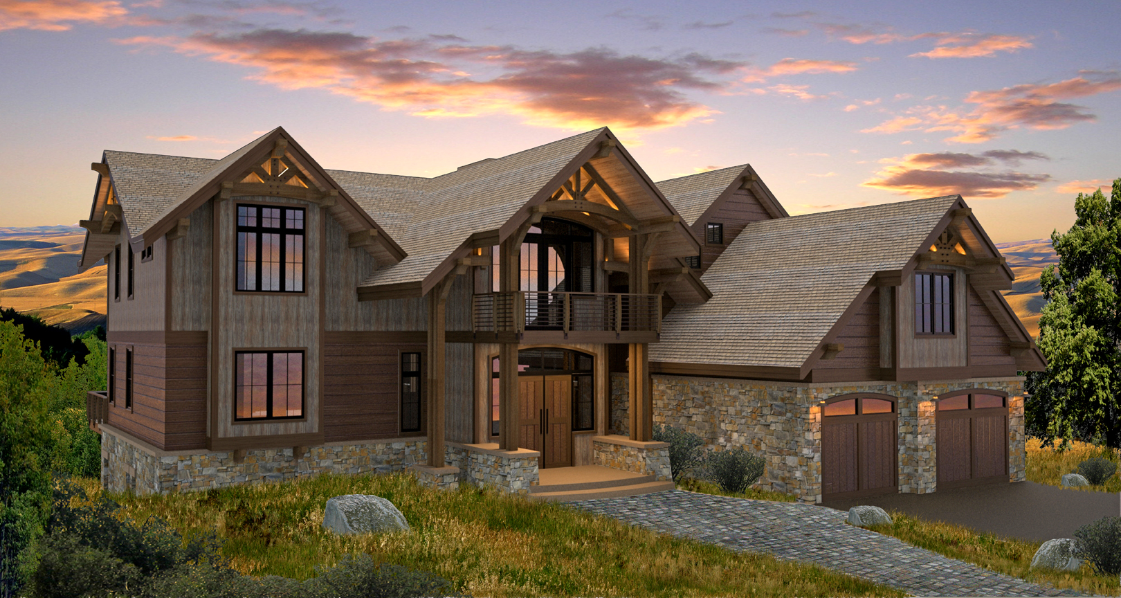 Two Story House Plans Front Porch