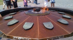 The Eternal Flame in Ottawa (not the Olympic flame)