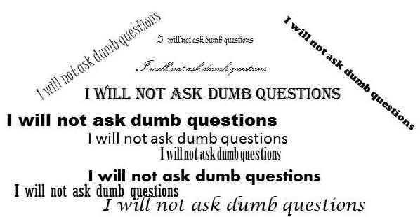 Dumb financial Questions
