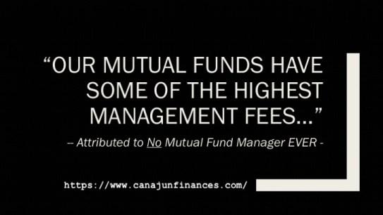 High Fee Mutual Funds