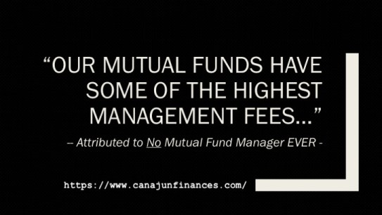 High Fee Mutual Funds