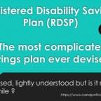 RDSP clarifications