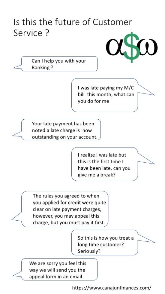 A possible chatbot conversation