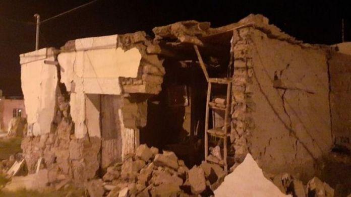 Indignante: se metieron a robar a una casa derrumbada por el terremoto