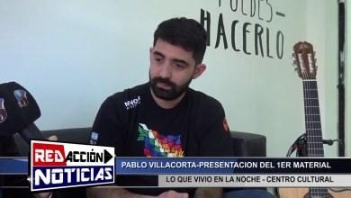 Photo of Redacción Noticias |  PABLO VILLACORTA HACE PRESENTACION DE SU PRIMER MATERIAL – LAS HERAS – SANTA CRUZ