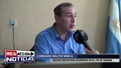 Photo of Redacción Noticias |  W.MIMICA – RESUMEN DE HECHOS POLICIALES – LAS HERAS SANTA CRUZ