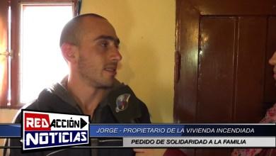Photo of Redacción Noticias    DAMNIFICADO POR INCENDIO DE VIVIENDA – LAS HERAS SANTA CRUZ