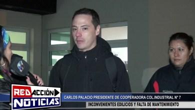 Photo of Redacción Noticias    PRESIDENTE DE PADRES INDUSTRIAL N°7 – CARLOS PALACIOS – LAS HERAS SANTA CRUZ