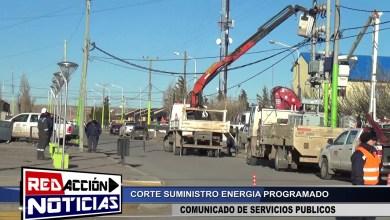 Photo of Redacción Noticias |  INFORME CORTE DE ENERGÍA – LAS HERAS SANTA CRUZ