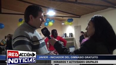 Photo of Redacción Noticias |  LAS HERAS – SANTA CRUZ – JAVIER ORNELLA INICIADOR DEL GIMNASIO GRATUITO