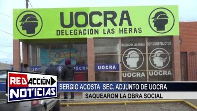 Photo of Redacción Noticias |  LAS HERAS – SANTA CRUZ – ROBO A UOCRA SRIO ADJUNTO SERGIO ACOSTA CONTINUA LA INVESTIGACION