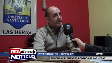 Photo of Redacción Noticias |  DDI INVESTIGACION – RODRIGUEZ – LAS HERAS SANTA CRUZ