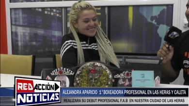Photo of Redacción Noticias |  LEJANDRA APARICIO BOXEO – LAS HERAS SANTA CRUZ
