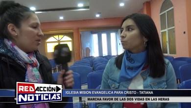 Photo of Redacción Noticias |  MARCHA PAÑUELO AZUL 1/2 – LAS HERAS SANTA CRUZ