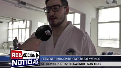 Photo of Redacción Noticias |  IVAN JEREZ – EXÁMENES DE CINTURONES DE TAEKWONDO – LAS HERAS SANTA CRUZ