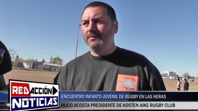 Photo of Redacción Noticias |  HUGO ACOSTA PTE. DE KOSTEN AIKE RUGBY CLUB – ENCUENTRO JUVENIL – LAS HERAS SANTA CRUZ