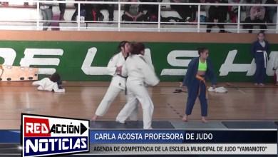 Photo of Redacción Noticias |  CARLA ACOSTA PROFESORA DE JUDO – AGENDA 2018 – LAS HERAS SANTA CRUZ