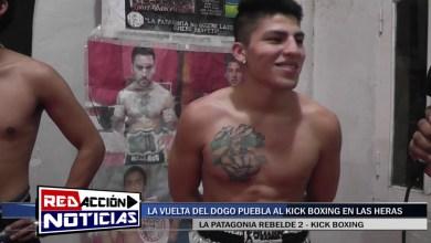 Photo of Redacción Noticias |  FRANCO PUEBLA – PREVIA LA PATAGONIA REBELDE 2 – LAS HERAS SANTA CRUZ