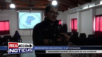 Photo of Redacción Noticias |  DELEGADO SAN ANTONIO – MANUEL CHAMORRO – SANTA CRUZ LAS HERAS