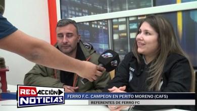 Photo of Redacción Noticias |  FERRO CAMPEON EN PERITO MORENO (CAFS) – LAS HERAS SANTA CRUZ