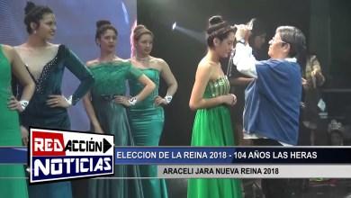 Photo of Redacción Noticias |  104 AÑOS LAS HERAS – NUEVA REINA DEL PUEBLO – LAS HERAS SANTA CRUZ