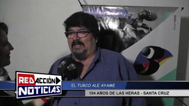 Photo of Redacción Noticias |  104 AÑOS LAS HERAS – DEJA VU & EL TURCO AYAME – LAS HERAS SANTA CRUZ