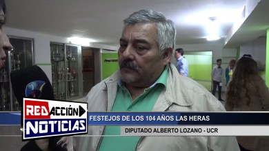 Photo of Redacción Noticias |  104 AÑOS LAS HERAS – DIPUTADO LOZANO UCR – LAS HERAS SANTA CRUZ