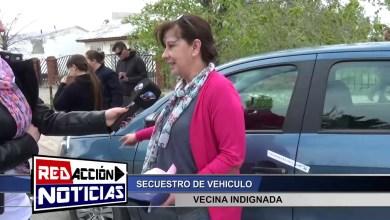 Photo of Redacción Noticias |  VECINA INDIGNADA POR EL SECUESTRO DE SU AUTO – LAS HERAS SANTA CRUZ