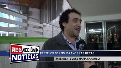 Photo of Redacción Noticias |  104 AÑOS LAS HERAS – INTENDENTE CARAMBIA J. M – LAS HERAS SANTA CRUZ