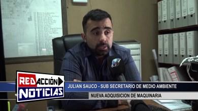 Photo of Redacción Noticias |  SUB SEC. DE MEDIO AMBIENTE – NUEVA MAQUINARIA – LAS HERAS SANTA CRUZ