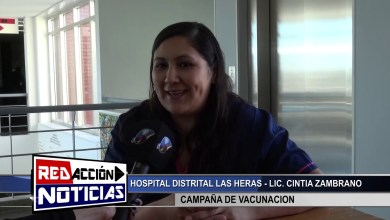 Photo of Redacción Noticias |  CAMPAÑA DE VACUNACION HOSPITAL DISTRITAL – LAS HERAS SANTA CRUZ