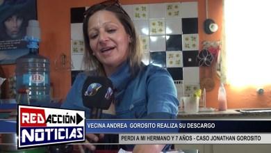 Photo of Redacción Noticias |  DESCARGO DE ANDREA GOROSITO – CASO JONATHAN GOROSITO – LAS HERAS SANTA CRUZ