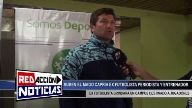 Photo of Redacción Noticias |  RUBEN EL MAGO CAPRIA EN LAS HERAS – LAS HERAS SANTA CRUZ