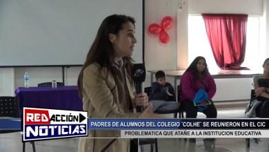 Photo of Redacción Noticias |  NUEVAMENTE CON LA PROBLEMATICA EN EL COLHE – LAS HERAS SANTA CRUZ