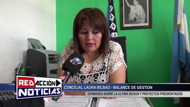 Photo of Redacción Noticias |  LAURA BILBAO BALANCE DE GESTION – LAS HERAS SANTA CRUZ 1/2