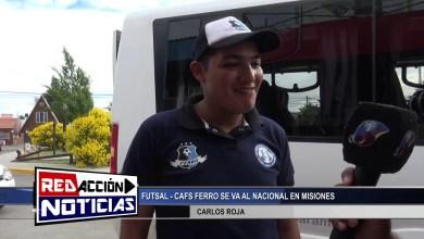 Photo of Redacción Noticias |  FUTSAL – CAFS – FERRO SE VA AL NACIONAL – LAS HERAS SANTA CRUZ