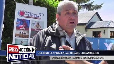 Photo of Redacción Noticias |  ENRIQUE BARRIA – 9° RALLY LAS HERAS LOS ANTIGUOS – ALACAS – LAS HERAS SANTA CRUZ