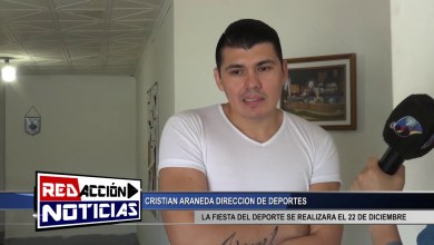 Photo of Redacción Noticias    LA FIESTA DE DEPORTE SE POSTERGO PARA EL 22 DE DIC. – ARANEDA CRISTIAN – LAS HERAS SANTA CRUZ