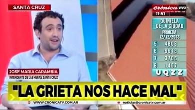 Photo of Redacción Noticias |  CARAMBIA J. EN UN CANAL NACIONAL –  CRONICA TV – LAS HERAS SANTA CRUZ