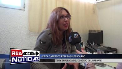 Photo of Redacción Noticias |  JESICA CARRASCO REALIZA SU DESCARGO – LAS HERAS SANTA CRUZ