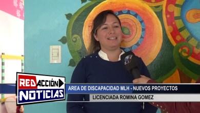 Photo of Redacción Noticias |  AREA DE DISCAPACIDAD MLH – ROMINA GOMEZ – LAS HERAS SANTA CRUZ