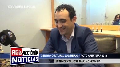 Photo of Redacción Noticias |  INTENDENTE JOSE MARIA CARAMBIA – LAS HERAS SANTA CRUZ 1/2