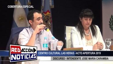 Photo of Redacción Noticias |  APERTURA DE SESION 2019 – CARAMBIA -LAS HERAS SANTA CRUZ 1/2